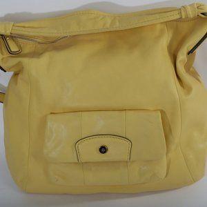 COACH Kristin Leather Front Pocket Shoulder Bag